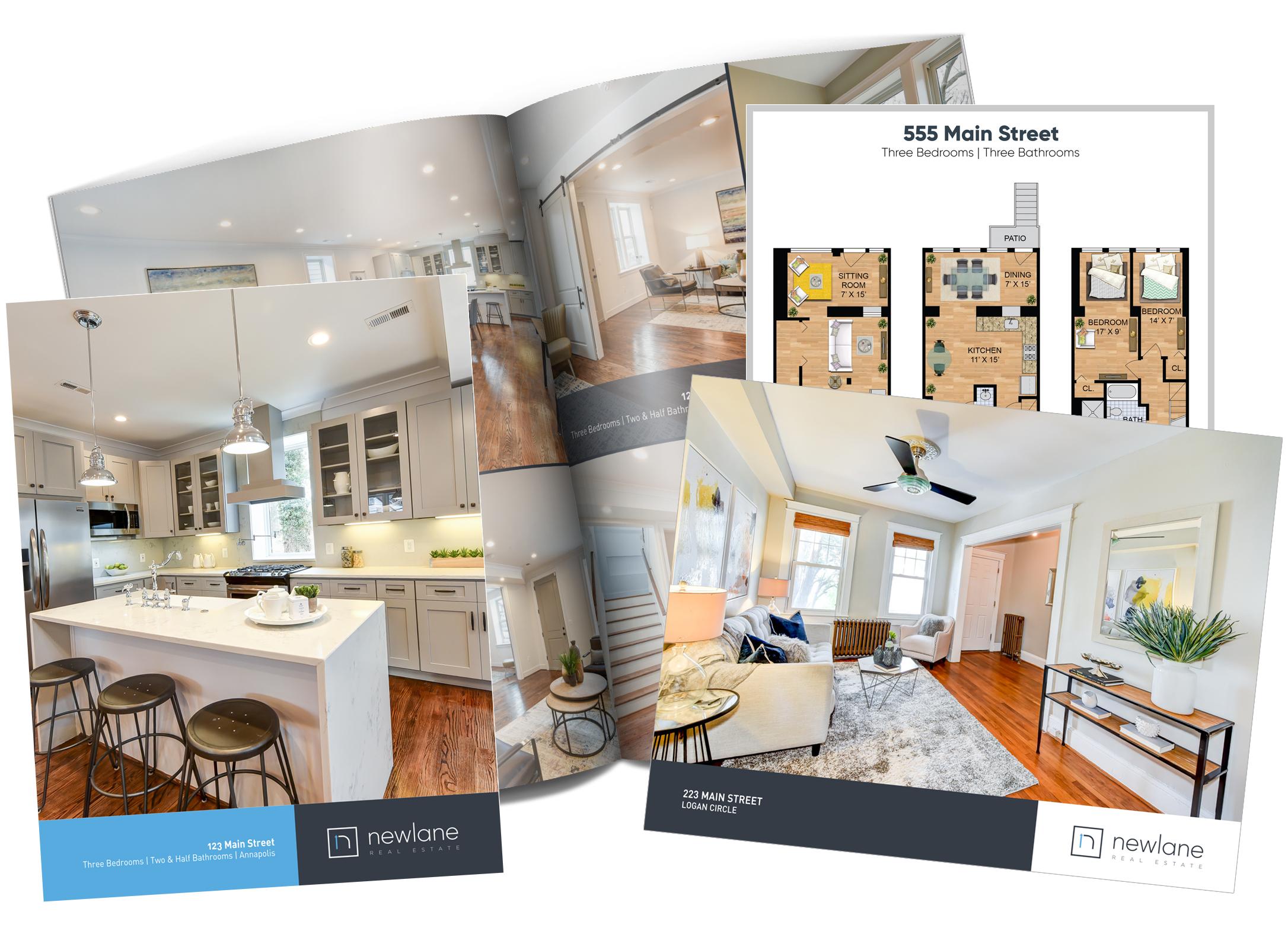 Brochures and Floor Plans